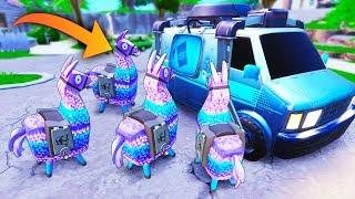 *SUPER RARE* 4 LLAMAS IN ONE SPOT!! - Fortnite Funny WTF Fails and Daily Best Moments Ep. 1025