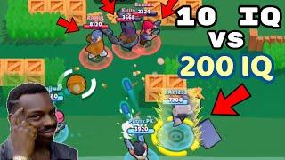 10 IQ or 200 IQ in Brawl Stars Part 6 Gameplay 2019 |Funny Moments ,Fails ,Glitches Montage | 300 IQ