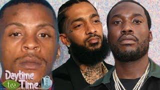 Nipsey Hussle SUSPECT in JAlL + Meek Mill gets WRONGFULLY named for setting up Eric Holder (DETAILS)
