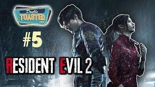 RESIDENT EVIL 2 REMAKE WALKTHROUGH #5 | FUNNY MOMENTS - Double Toasted Gaming