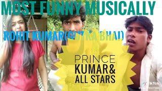 musically funny video all stars /full entertainment/Rohit kumar (gutka bhai)& prince kumar
