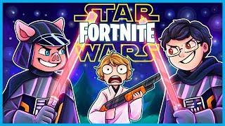 STAR WARS LIGHTSABER VICTORY ROYALE in Fortnite: Battle Royale! (Fortnite Funny Moments & Fails)
