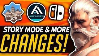 Overwatch | STORY MODE, More Changes & The Best April Fool's Jokes!