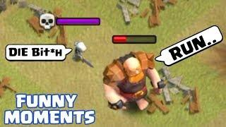 coc funny moments glitches fails trolls compilation clash of