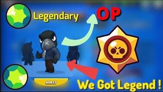Brawl stars | We Unlocked Legendary brawler Crow !! Crow funny movements | Brawl stars | Hindi