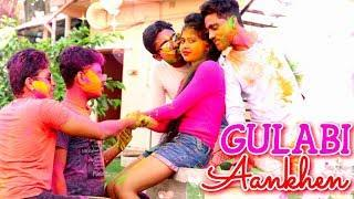 Gulabi Aankhen Holi Version ||Remix full song|| Funny Love Story||Sv Music City 2019