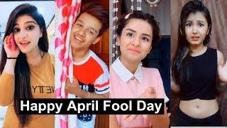 Happy April Fools Day Musically Tiktok | Funny Pranks | Manjul, Jannat, Riyaz, Avneet, Aashika