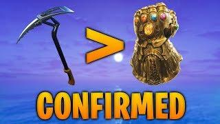 THANOS GOT REKT BY PICKAXE - Fortnite WTF and Funny Moments #38