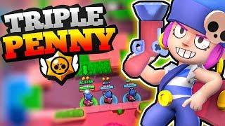TRIPLE PENNY funny match????| Funny moments | Brawl Stars | HINDI |