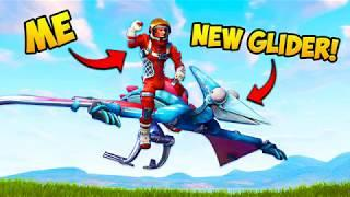 *NEW* DINOSAUR GLIDER!! (EPIC) - Fortnite Funny Fails and WTF Moments! #233 (Daily Moments)