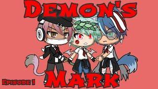 """•Demon's Mark• Gachalife Gay Love~Episode 1~""""Fun in detention"""""""