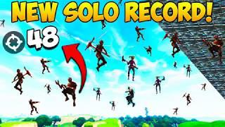 48 KILLS BY 1 PLAYER! NEW SOLO *RECORD* - Fortnite Funny Fails and WTF Moments! #243 (Daily Moments)