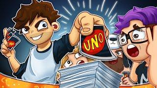 The LUCKIEST Draws EVER!! - Uno Funny Moments
