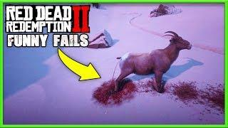 Funny Fails & Best RDR2 Moments #44 (Red Dead Redemption 2) - LoL Videos