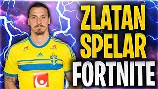 ZLATAN SPELAR FORTNITE! (Svenska Fortnite Funny Moments & Highlights) #18