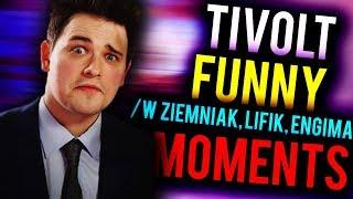 TIVOLT FUNNY MOMENTS! | /w ZIEMNIAK, ENIGMA, LIFIK