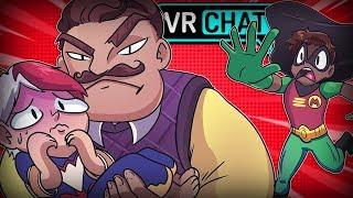 FRIEND GETS KIDNAPPED IN VRCHAT! (VRChat Funny Moments, Highlights, Compilations)