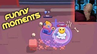 Random BULL in seige! Brawl Stars funny moments and fails #1