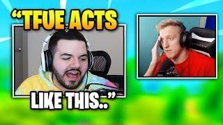Courage Does Tfue Impression | Fortnite Daily Funny Moments Ep.330