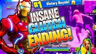 INSANE FORTNITE BATTLE ROYAL STORM CLUTCH!! [Playing With FANS!!] **FUNNY MOMENTS**