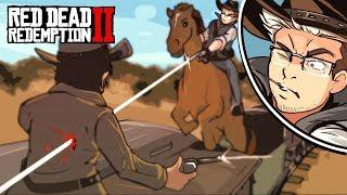 *NEW* RED DEAD REDEMPTION 2 GAMEPLAY FUNNY MOMENTS ! - THIS IS HOW YOU GET IT DONE! (Funtage)