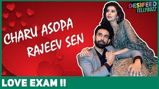 Charu Asopa & Rajeev Sen's Funny Love Exam| Couple Goals