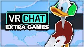 THE EXTRA GAMES IN VRCHAT! (VRChat Funny Moments, Highlights, Compilations)