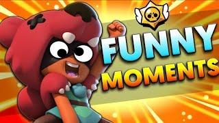 Funny Moments, Glitches & Fails | Brawl Stars Montage #1