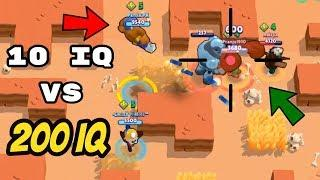 10 IQ or 200 IQ in Brawl Stars Part 8 Gameplay 2019 |Funny Moments ,Fails ,Glitches Montage | 300 IQ