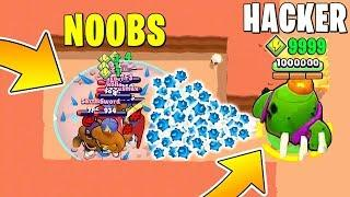 INSANE HACKER TROLL! Brawl Stars Funny Moments & Glitches