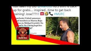 ManUtd News - Ferdinand jokes about No 5 shirt at Manchester United