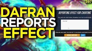 Dafran Reports Effect For Widow Bug Abuse - Overwatch Funny Moments