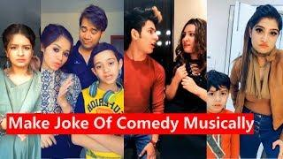 Make Joke Of Comedy Musically   Manjul, Avneet, Team07, Jannat, Aashika, Anam Darbar