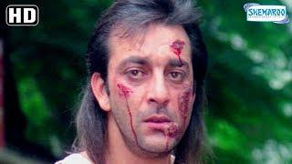 Best Of Sanjay Dutt [Sanju] scenes from Andolan - 90's Superhit Hindi Movie - Govinda - Somy Ali