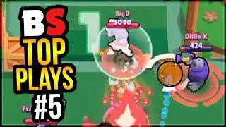 Best Plays & Moments in Brawl Stars History | BS Top Play Review #5