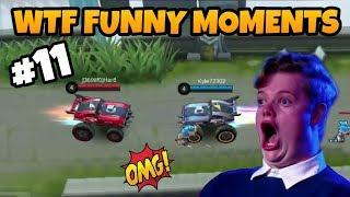 MOBILE LEGENDS FUNNY MOMENTS PART 11 | WTF MOMENTS