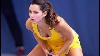 Funny And Sexy Embarrassing Moments Of Tennis Stars #10 The Hottest Female Athletes! Sports Games