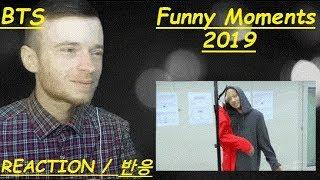 BTS Funny Moments 2019 Try Not To Laugh Challenge REACTION / 반응