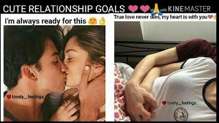 Cute relationship memes | lovely feelings | couple goals photos | couple goals of all time