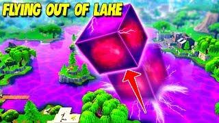 *LEAKED* CUBE CAME OUT OF LOOT LAKE..! | Fortnite Twitch Funny Moments #187
