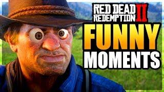 MORE CRAZY RDR2 FAILS - Red Dead Redemption 2 FUNNY MOMENTS