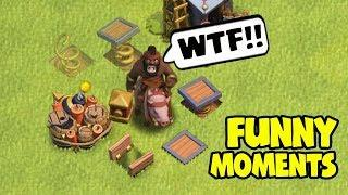 Clash of Clans Funny Moments Trolls Compilation #34 | COC Montage