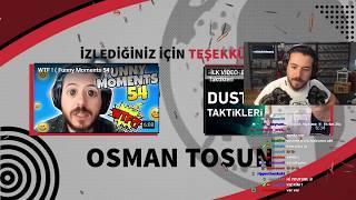 UNLOST OSMAN TOSUN TOSPİK FUNNY MOMENTS 55 İZLİYOR