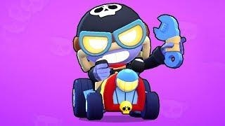 Brawl Stars NEW SKIN Road Race Carl | Funny Moments & Glitches & Fails Brawl Stars Montage