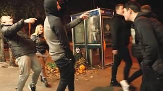Halloween Prank | Skeleton's Scare Prank | Scary Public Prank in Ireland | Latest Scary Prank 2018 |
