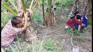 love story near the banana tree,funny short film