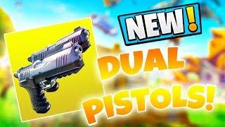 THE NEW DUAL PISTOLS ARE OVERPOWERED!! (NEW META?) | Fortnite Funny Moments Ep. 199