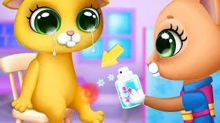 Fun Pet Care Kids Game - Kitty Meow Meow City Heroes - Play Kitten Rescue Care Games For Children