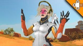 JEFF STOP NERFING MERCY! Overwatch Funny & Epic Moments 685