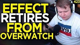 Taimou Reacts To Effect Retiring From Overwatch  - Overwatch Funny Moments 423